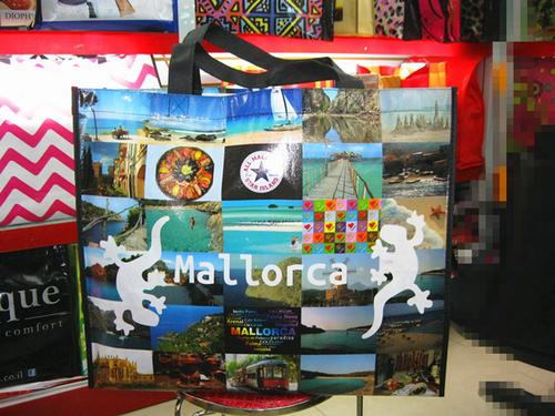 Non-woven fabric coated bags fashion and beautiful green professional laminating free design