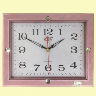 supply rectangular muted fashion small bedroom wall clock. Black Bedroom Furniture Sets. Home Design Ideas