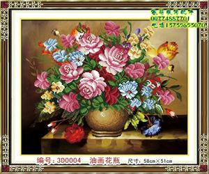 DIY diamond drilling cross stitch picture postage DIY resin painting vases