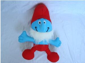 Cartoon plush toy swimsuit fabric 50g cartoon bamboo charcoal package blue Wizard