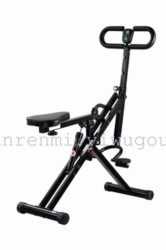 Electric belly riding machines for household use and invigorating ride swing weight training fitness AB-9100
