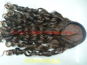 Pull the wig,With curly hair Barrette,Long curly hair,Wig accessories