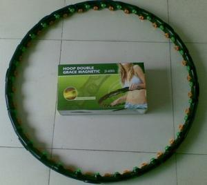 Removable Magnetic Massage Hula Hoop ,Fitness Lose Weight Hoop Free