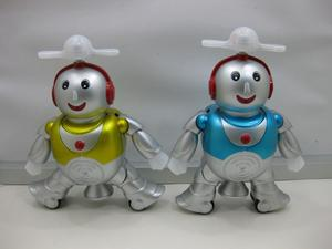 electronic toys with sound cute singing and dancing robot robot robot rotating stock robot