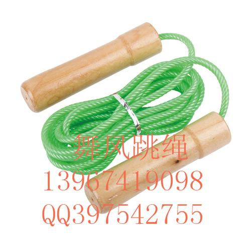 Bearing fitness jump rope with wooden handle counting jump rope