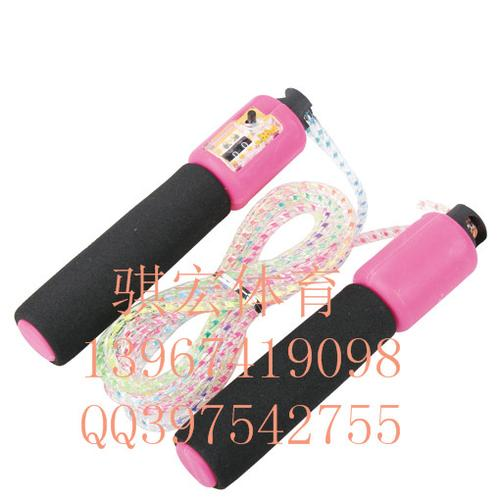 Link macro standard skipping rope sponge handle automatic counting of students jump rope