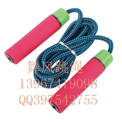 Dancing wind bearing students in adult body weight jump rope standard skip