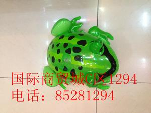 Inflatable toys, PVC material manufacturers selling cartoon frog