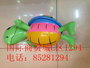 Inflatable toys, PVC material manufacturers selling cartoon turtle