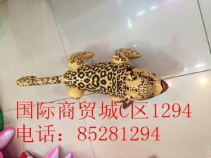 Inflatable toys, PVC material manufacturers selling cartoon character little Leopard