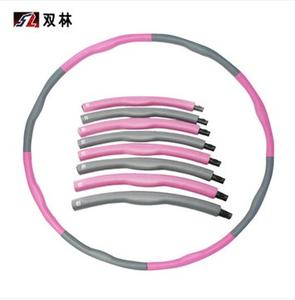 Shuanglin 8 foam massage Hula Hoop weight detachable waist increased soft-Hula Hoop