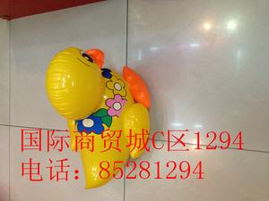 Inflatable toys, PVC material manufacturers selling cartoon big duck