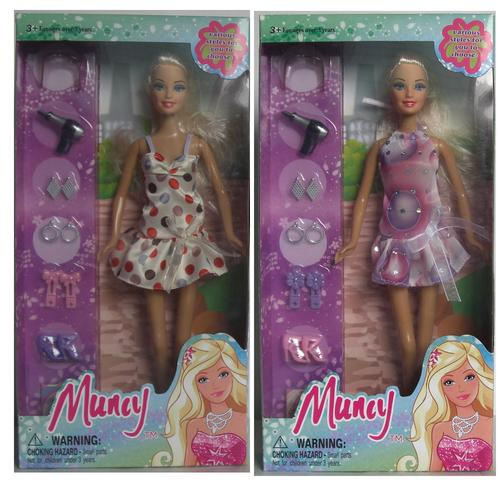 Upscale boxed Barbie Dressup fashion toys. Play House. Factory direct sales