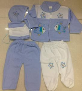 Baby set, baby five sets, baby clothes, children's clothing, children clothes, kids towels