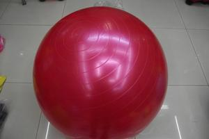 Smooth fitness ball