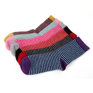 Rabbit wool cashmere fall/winter fashion women socks