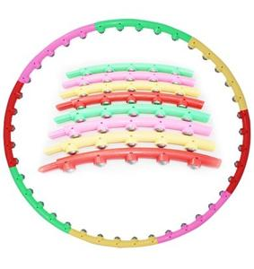 Shuanglin Hula detachable magnet hard massage Hula Hoop Hula Hoop weight waist increased the hoop