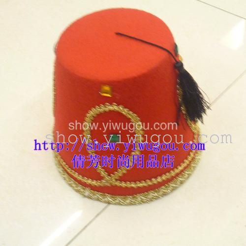 Red non-woven hats,Riding hats,Decorative Hat,Uniform hats