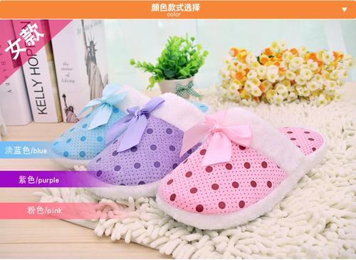 Winter cotton slippers home shoes mopping the floors of indoor cotton slippers soft bottom couple cute cotton wholesale A-18