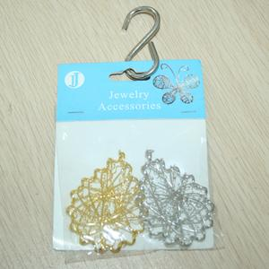 Handmade wire drops, Jewelry Accessories, decorative crafts, clothing accessories.
