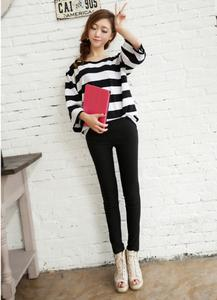 2014 new Candy-colored leggings skinny pencil pants feet pants 6 color optional
