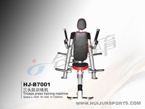 Lever-triceps training machine (with 80kg barbell piece) HJ-B7001