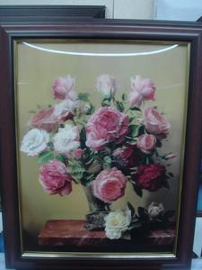 Factory direct Waldorf crafts three-dimensional painting framed T4001-38*48CM