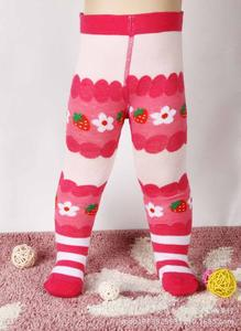 Foreign children socks cartoon big PP pants baby pants cute pantyhose