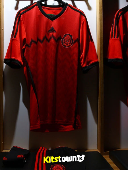 62e419ddcad Supply 2014 Mexico away Soccer Jersey-