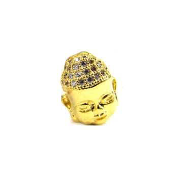 Exquisite Guanyin Buddha bracelet chain zirconium inlay Ding Shi Sanzhu clavicle micro-inlay series Accessories jewelry necklace DIY PP161