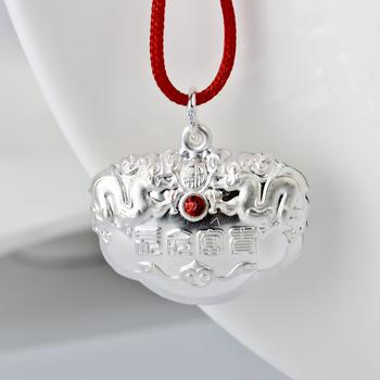 In stock Wholesale -- New 925 Sterling silver jewelry Pendants Silver Necklace Pendant Baby pendant BBD0001