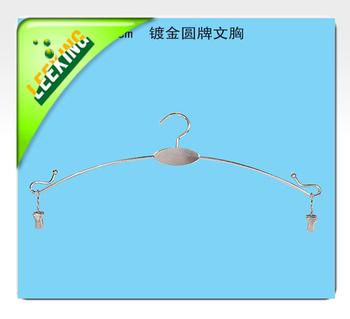 Factory Outlet clean her metal bra holder can be customized gold plated disc Bras wholesale