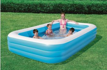PVC inflatable toys Blue House on Queen square swimming pool kids swimming supplies wholesale