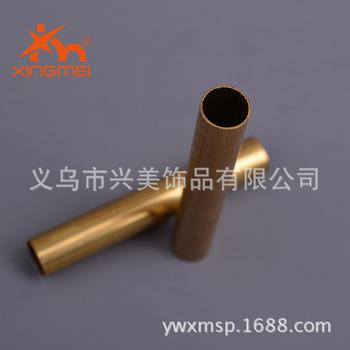 Copper jewelry Yiwu jewelry accessory factory direct DIY accessories alloy accessories FB00477 brass straight tube