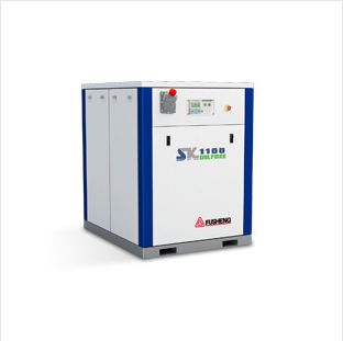 Fusheng food grade low pressure oil-free screw compressor/l SK screw air compressor/0.25MPa