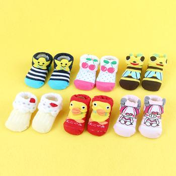 Wholesale cotton baby socks Shoes Socks cartoon stereo store non-slip baby socks for men and women, autumn, winter and summer