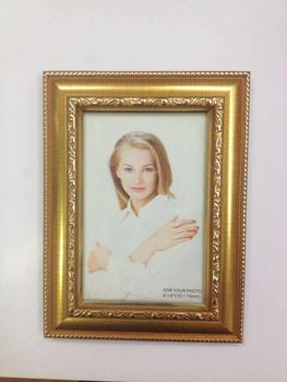 Factory direct Waldorf craft high-end customized gold picture frame wholesale/export quality
