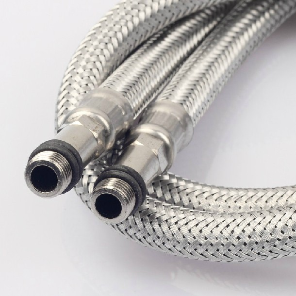 Supply Yi Lingnuo sanitary stainless steel wire braided hose tip tubes-