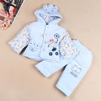 2014 new winter clothing baby clothes infant cotton padded coat walking dress packages