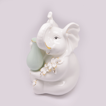 Ceramic elephant ornaments modern minimalist home living room decorations-style arts and crafts ideas