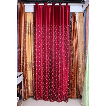Latest trade Yiwu, blackout drapes/curtains curtains curtain window screen note printing fabrics wholesale curtain fabric