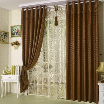 manufacturers of curtain fabric wholesale nierbu wholesale shade cloth import/export of snow finished B052