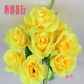 Arena flowers games row of squares with flowers artificial flowers 10 rose temple fair flower Hua