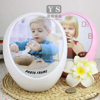 Simple, fresh and creative wedding music box spinning photo frame picture frames children's piggy banks ornaments