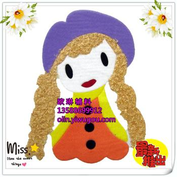 Cats get cost-effective heat press factory Taobao days explosions 2014 most popular figure hot purple Hat girl