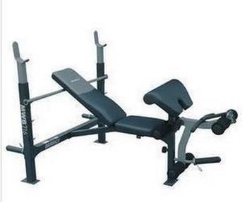 Multifunctional weight bench home under the flat bench press barbell rack inclined squats
