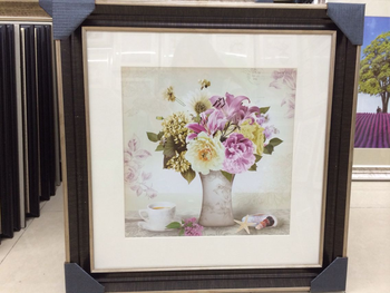 Huapeng high quality photo frames in Yiwu painted vases produced high quality cardboard painted bedroom decoration factory outlet