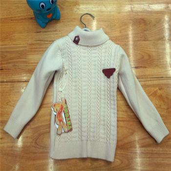 2014 new Korean sweater cotton cashmere is not inverted base of baby clothes boys shirts