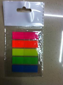 Fluorescent stickers PET, PET fluorescent films indicates that the paste, such as sticky notes