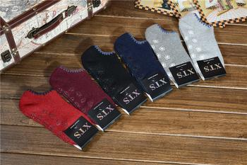 Factory wholesale trade the new 2014 Winter thick warm women boat socks quality assurance.
